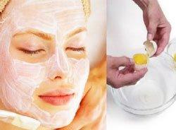Маска для подтяжки кожи  с яичным белком