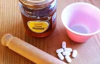 Маска из аспирина и меда для лица