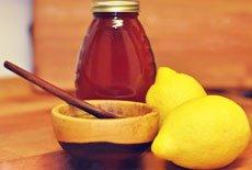 Маска для лица с лимоном и медом