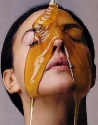 Маска с мёдом для лица от морщин