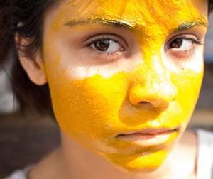 Маска против морщин с лимоном