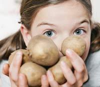 Маска из крахмала картофельного и белка