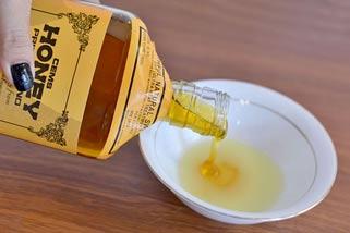 Правила осветления медом