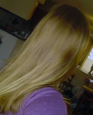 Эффект от осветления волос ромашкой