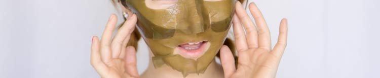 Маски из ламинарии для лица