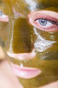 Маска из ламинарии для кожи вокруг глаз