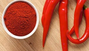 Маска для ногтей с красным перцем